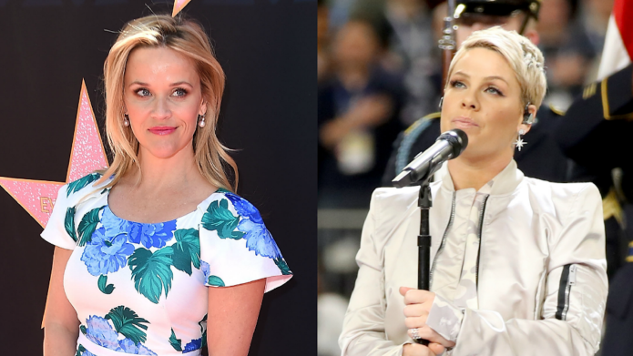 Reese Witherspoon Is Here for Pink's