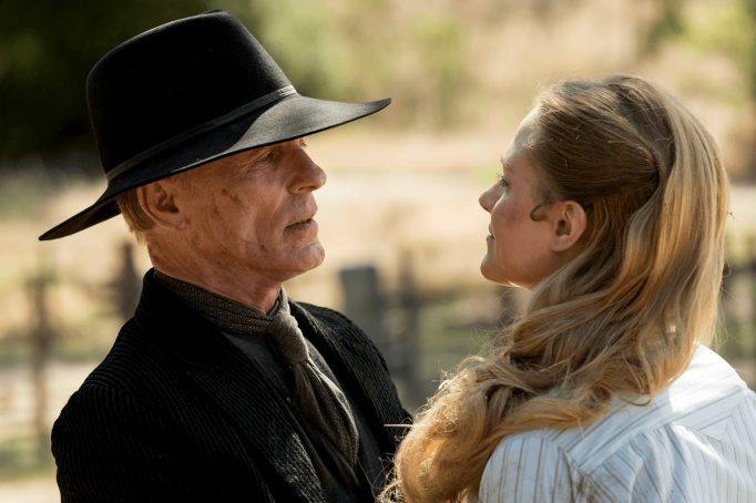 William and Dolores in Westworld