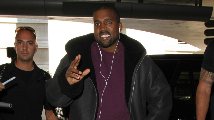 Kanye West thinks 'everyone is out