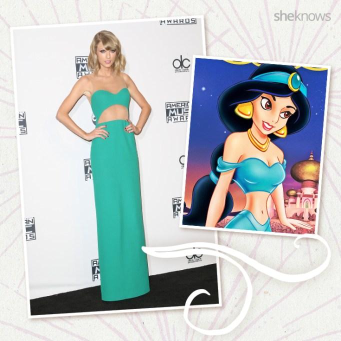 Taylor Swift as Disney princess Jasmine