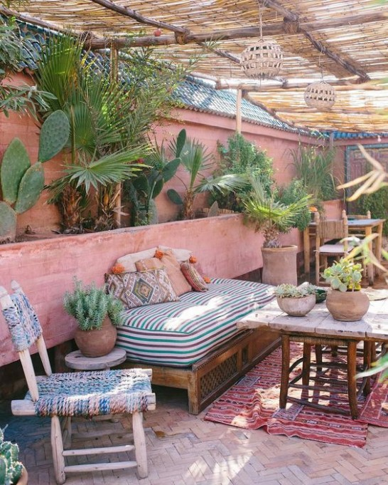Classic Moroccan meets California cool