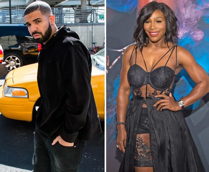 Serena Williams dating Drake