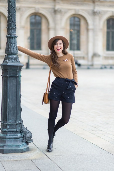 Bloggers Show You How to Wear Shorts for Fall : A Clothes Horse