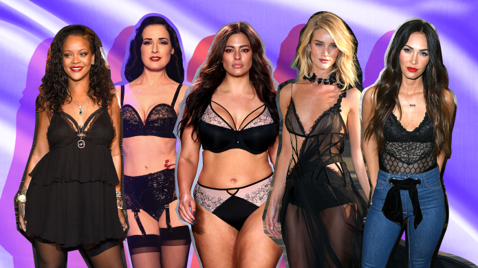 8 Sexy Celebrity-Owned Lingerie Lines to