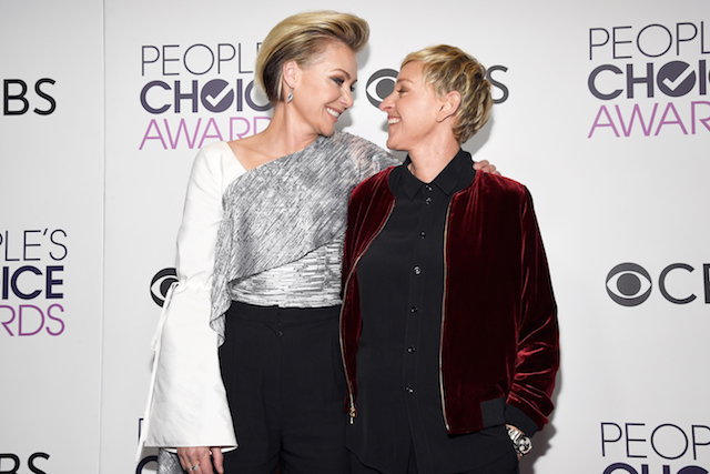 Celebrity Couple Love Stories: Ellen DeGeneres & Portia de Rossi