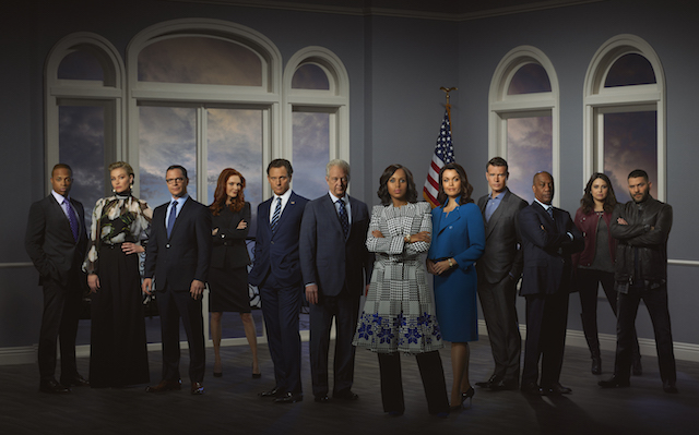Check out the return dates for some of your favorite TV shows: 'Scandal'
