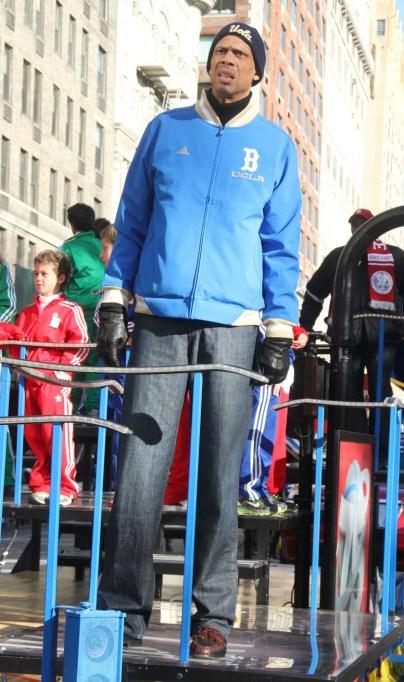 Macy's Thanksgiving Day Parade: Kareem Abdul Jabaar