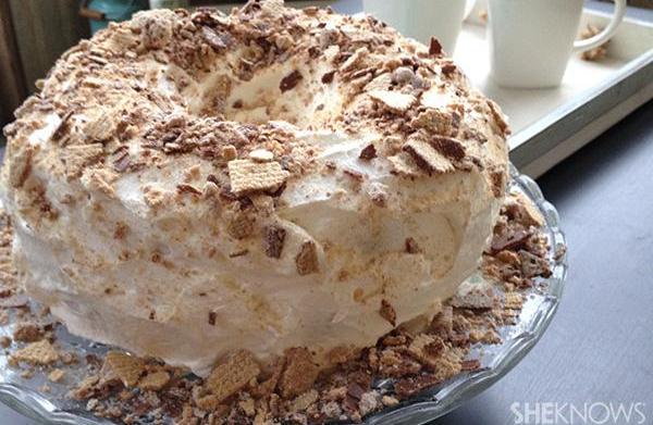 Coffee Crisp cake recipe