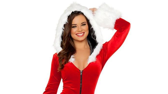 Holiday lingerie that doesn't make you