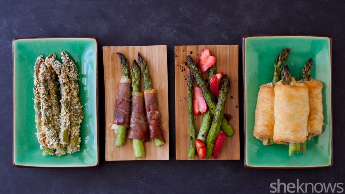4 Asparagus Side Dishes That'll Add