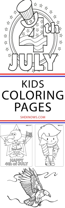 Pin it! 23 Patriotic Activity & Coloring Pages to Help Kids Celebrate 4th of July