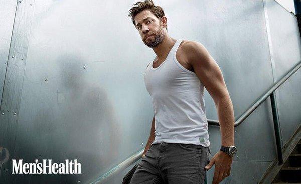 John Krasinksi in Men's Health magazine
