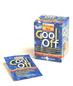 New product: Cool Off Wipes that