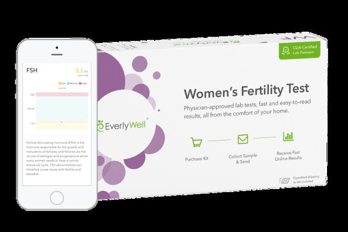 Women's Fertility Test Photo