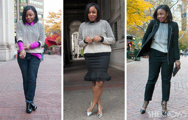 3 Ways to style a sweatshirt