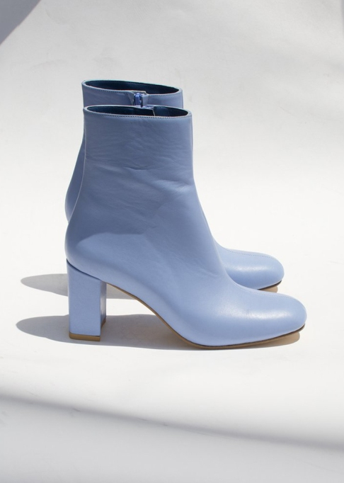Fall Boots To Shop Before They Sell Out: Maryam Nassir Zadeh Agnes Boot in Periwinkle | Fall Fashion Trends 2017