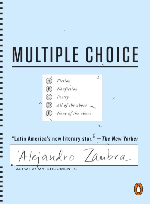 Multiple Choice book cover