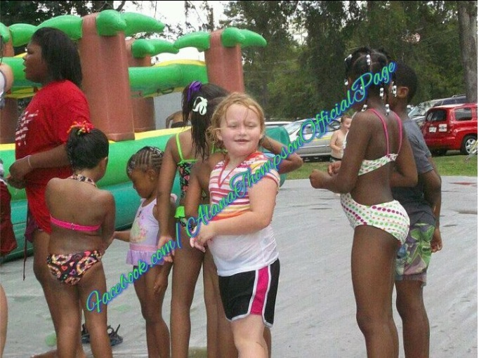 Honey Boo Boo at her 7th birthday party in October 2012
