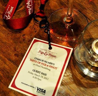 Pigs & Pinot: An evening of
