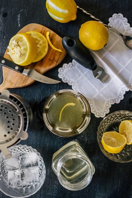 Lemon Garnish on Top