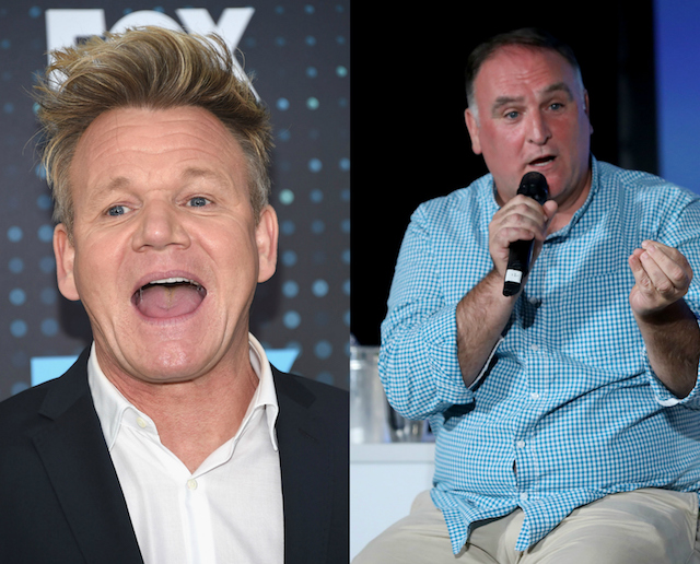 Gordon Ramsay's has been with a lot of people: José Andrés