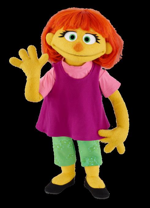 Julia from Sesame Street