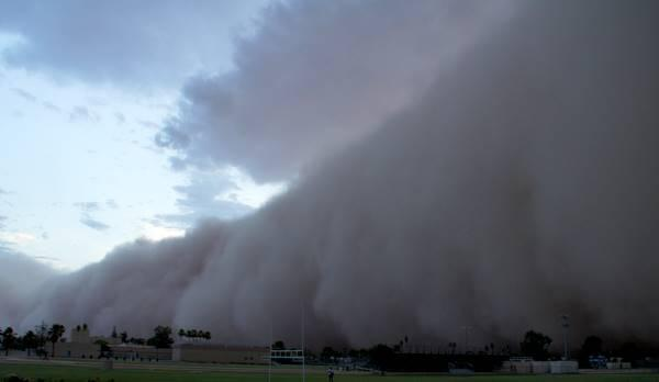Arizona's monsoon season dust storms