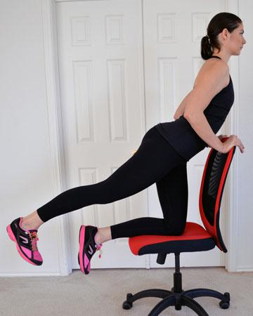 Leg exercises you can do from