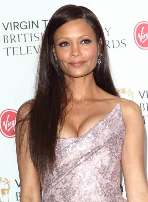 Thandie Newton at Virgin TV BAFTA