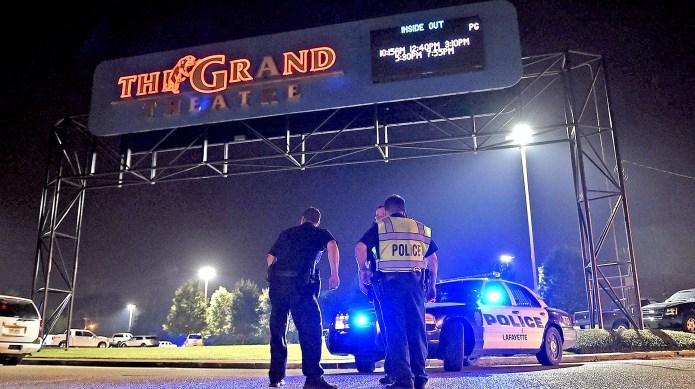 Teacher inside Louisiana theater shooting takes