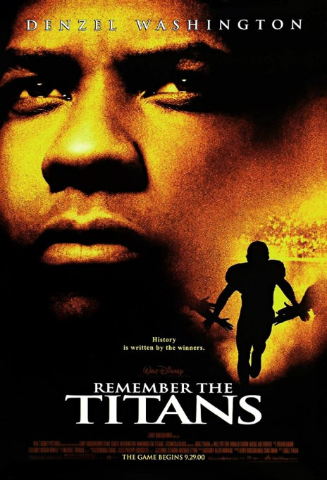 'Remember the Titans' movie poster