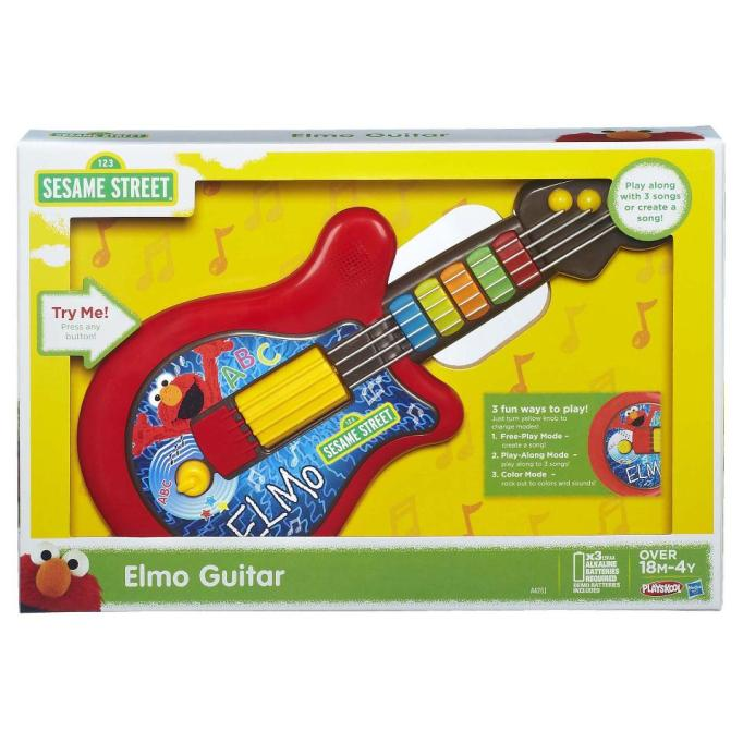 Moms' Most-Hated Holiday Gifts: Sesame Street Elmo Guitar