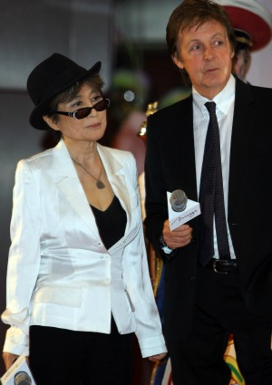 Yoko Ono Paul McCartney