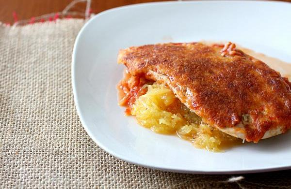 Classic cooking lightened up: Chicken Parmesan