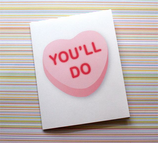 you'll do valentine's day card