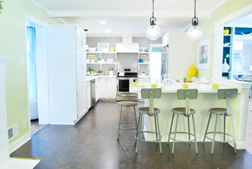 Renovating your kitchen Inspiration: Light & airy