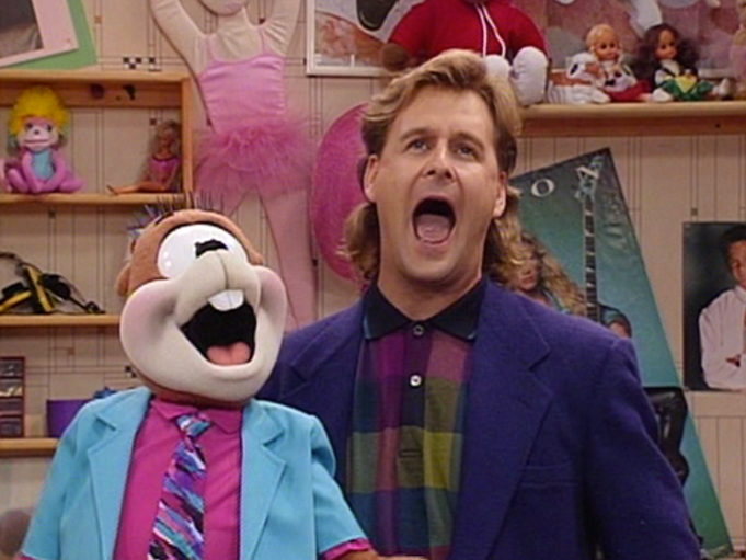 Dave Coulier on Full House