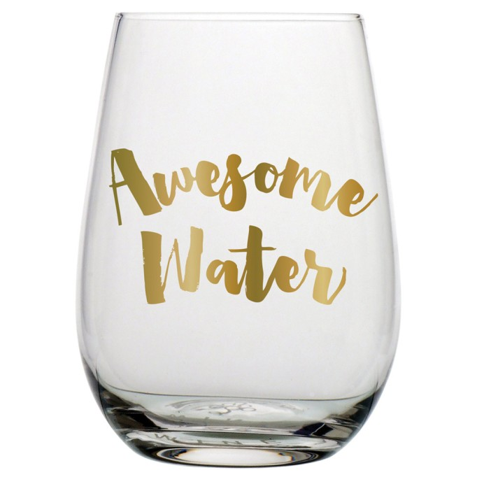 Cute, affordable wine glasses | Awesome water stemless glass