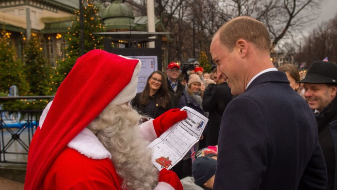 Prince George's Christmas List Is Too