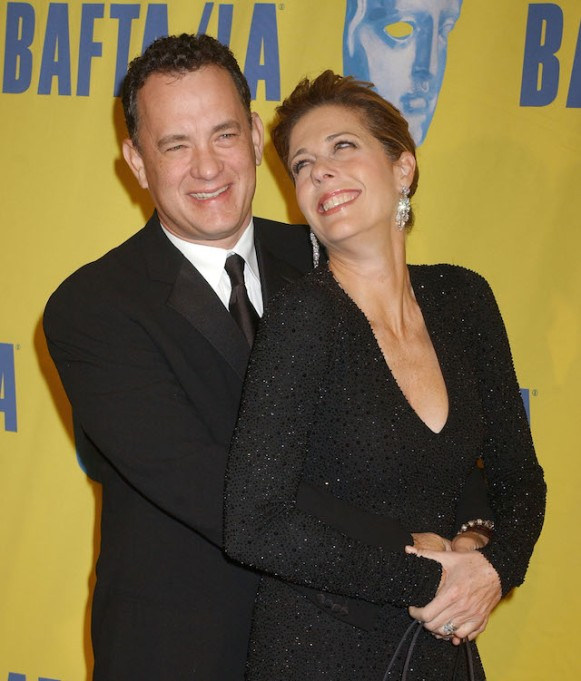 Tom Hanks and Rita Wilson at the 13th Annual BAFTA/LA Britannia Awards