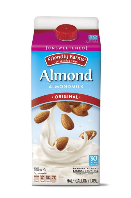 Friendly Farms Unsweetened Almondmilk at Aldi