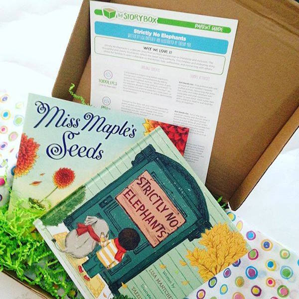 Best baby subscription boxes: The Story Box