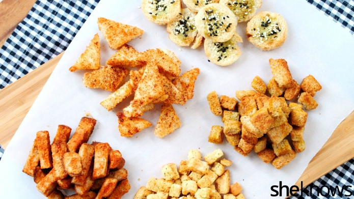 5 Easy homemade croutons that will