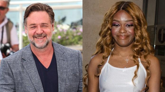 Russell Crowe accused of choking Azealia