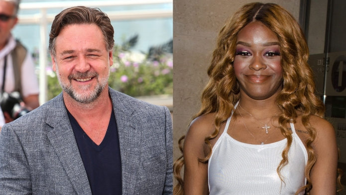Russell Crowe accused of choking Azealia