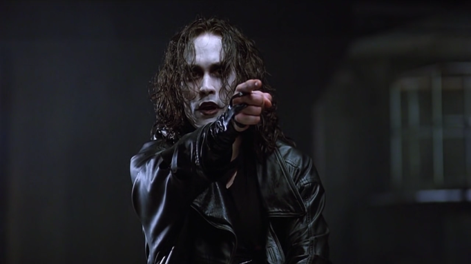 Brandon Lee was killed while filming The Crow