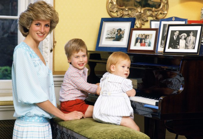 Iconic photos of Princess Diana: Diana with William and Harry