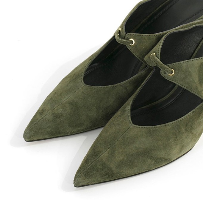 The Best Mule Shoe For Summer 2017: Suede Pointed Heeled Shoes | Summer 2017 Accessories