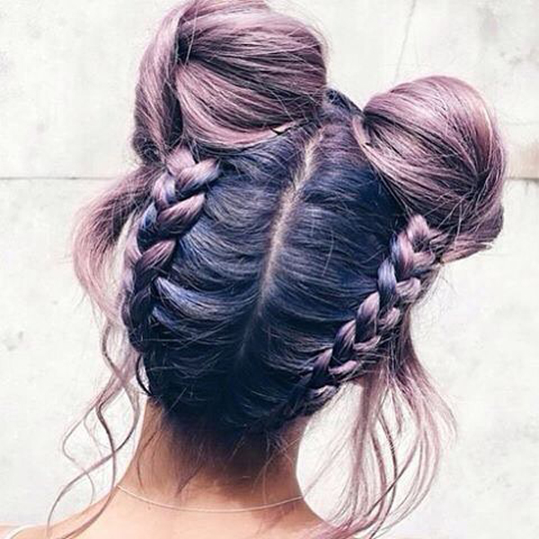 Surprise Space Buns Are The Most Popular Summer Hairstyle On