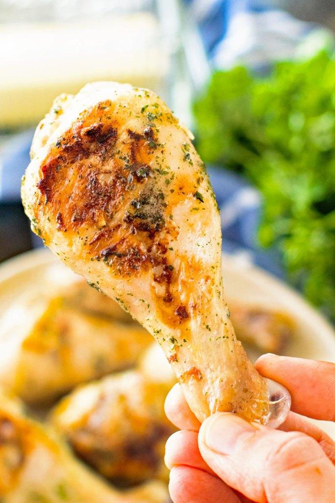Three-Ingredient Grilled Ranch Chicken
